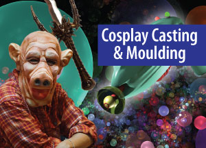 Cosplay, special effects plastic