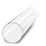 Acrylic plastic rods buy online at Polymech Melbourne